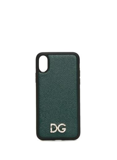 Dolce&Gabbana iPhone XS Aksesuar Yeşil